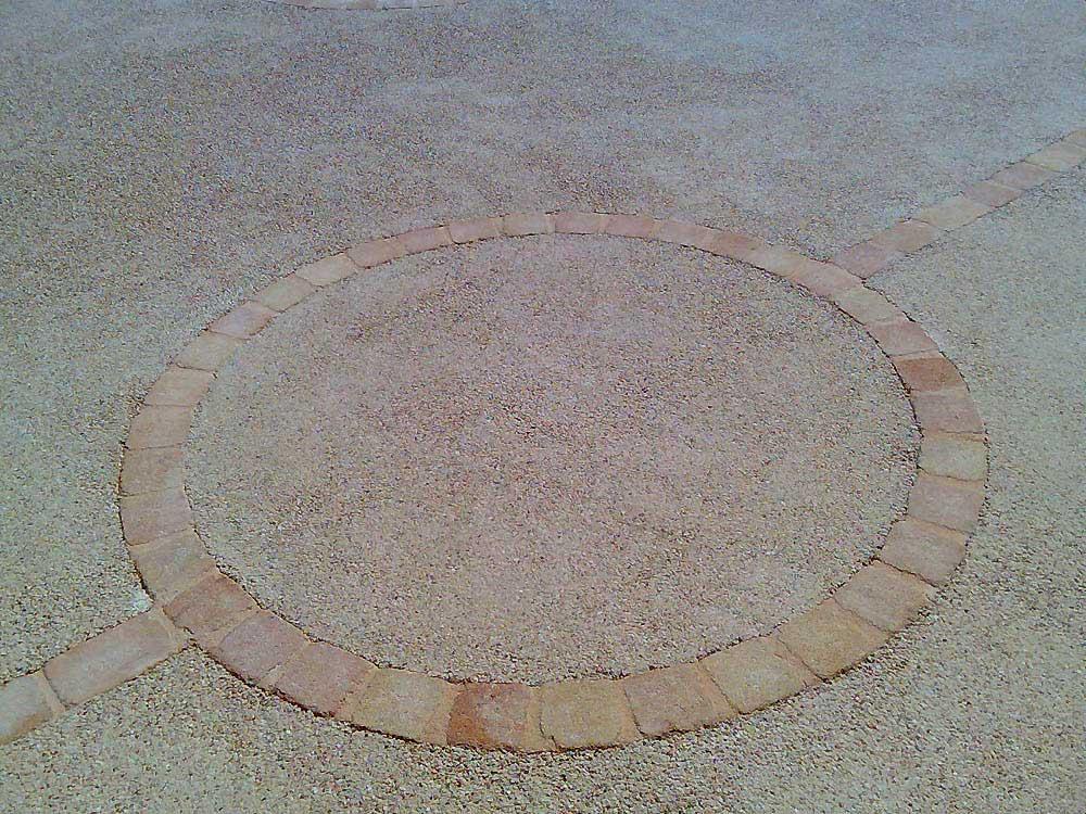 Les r alisations de performance carrelage carreleur dans for Sol exterieur beton desactive